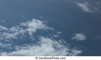 Cloudy Summer Sky High Definition Time Lapse - Cloudy blue...