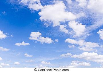 clound, hemel, achtergrond, natuur