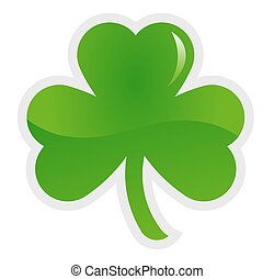 clove shamrock vector illustration