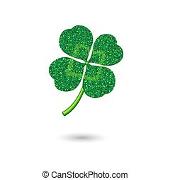 Clover as a symbol of luck