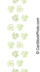 clover geometric textile textured vertical seamless pattern...