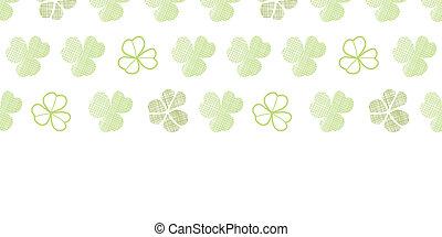 clover geometric textile textured horizontal seamless...