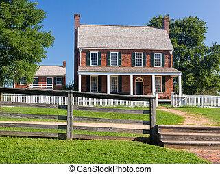 Clover Hill Tavern at Appomattox National Park