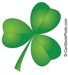 clover leaf - vector clover leaf