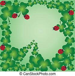 clover leaf frame