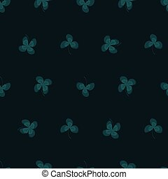 Clover leafs background