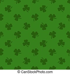 Clover leaves background. St. Patrick day background.