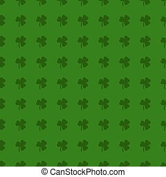 Clover leaves background. St. Patrick day background. S