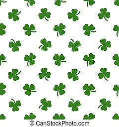 Clover leaves background. St. Patricks day background.