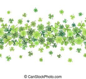 clover leaves frame