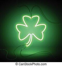 clover neon lamp