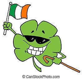 Clover On St Patrick's Day