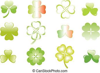 clover or shamrock for St Patricks day