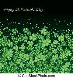 Clover pattern green