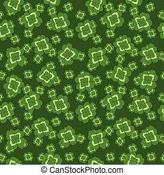 clover pattern green vector illustration