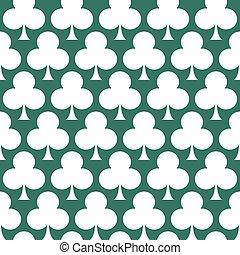 clover seamless background art
