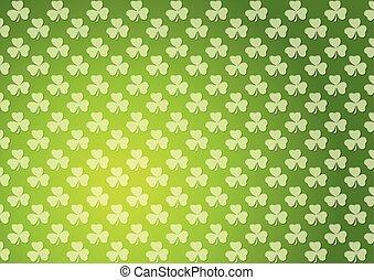 Clovers shamrocks green abstract texture background