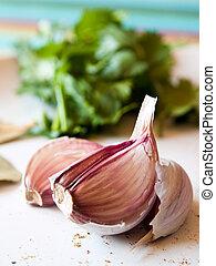 cloves, aglio