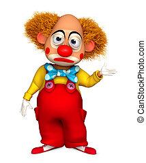 clown cry