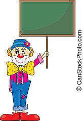clown., engraçado