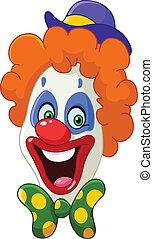 clown, gesicht