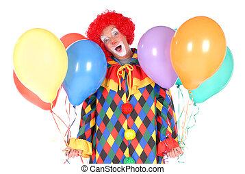 clown, halloween