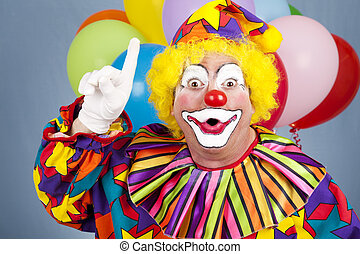 clown, idé
