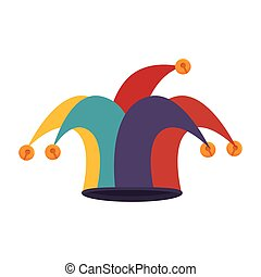 clown jester hat