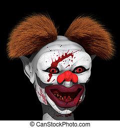 Clown killer is on hunt