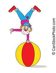 clown, lustiges