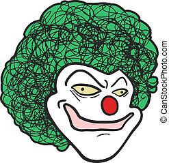 Clown man