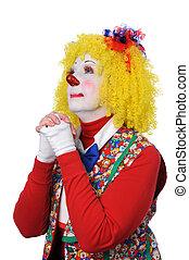Clown Praying