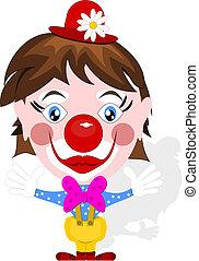 clown, rigolote