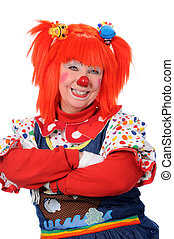 Clown With Arms Crossed