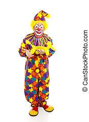 Clown With Balloon Animal FB