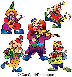 clowns.