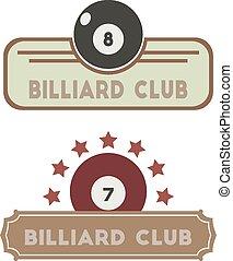 club, billard