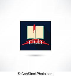 Club book in the square