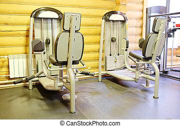 club, fitness, gymnase