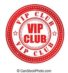 club, francobollo, vip