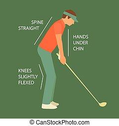 club golf, sport