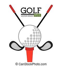 club, golf, sportende
