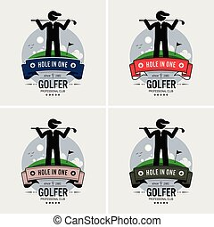 club, logo, golf, design.