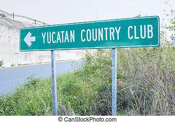 club, país, yucatán