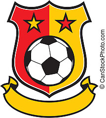 club, simbolo, football, (soccer)