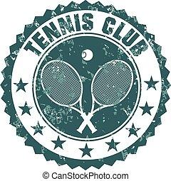 club, timbre, tennis