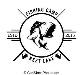 club, torneo, pescador, pesca