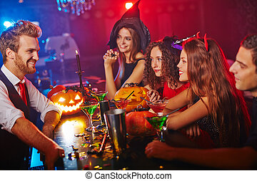 Clubbing at Halloween