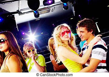 clubbing, friends