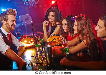 clubbing, halloween